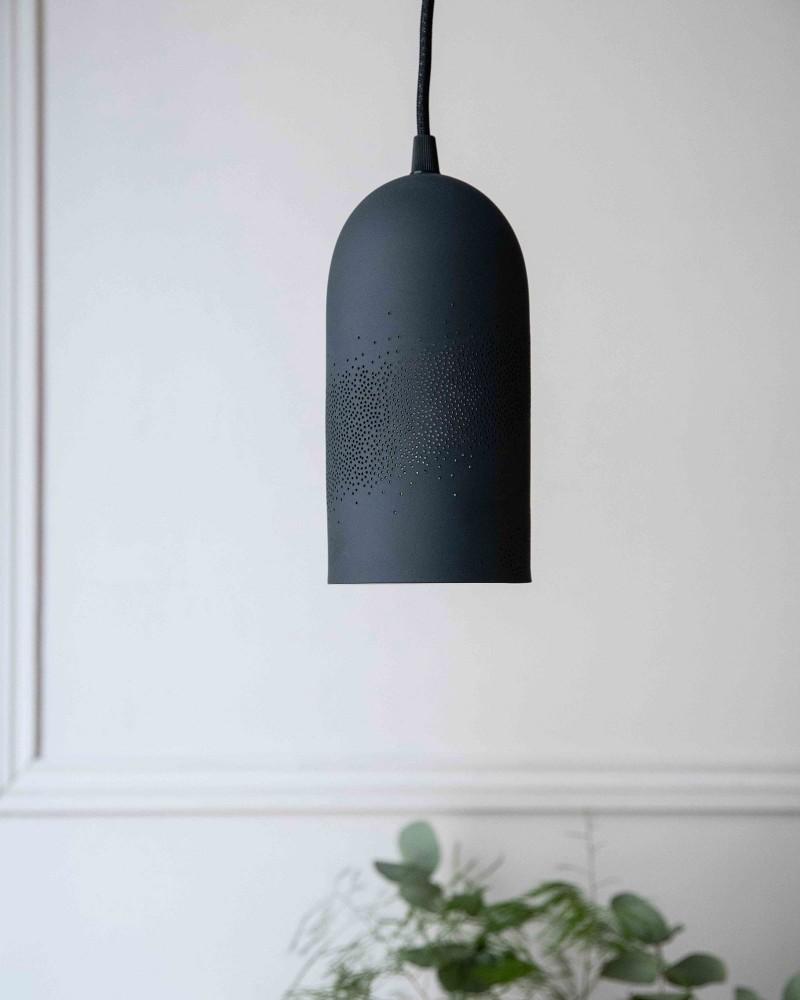 Suspension porcelaine - Noir - Taille S - Voie lactée