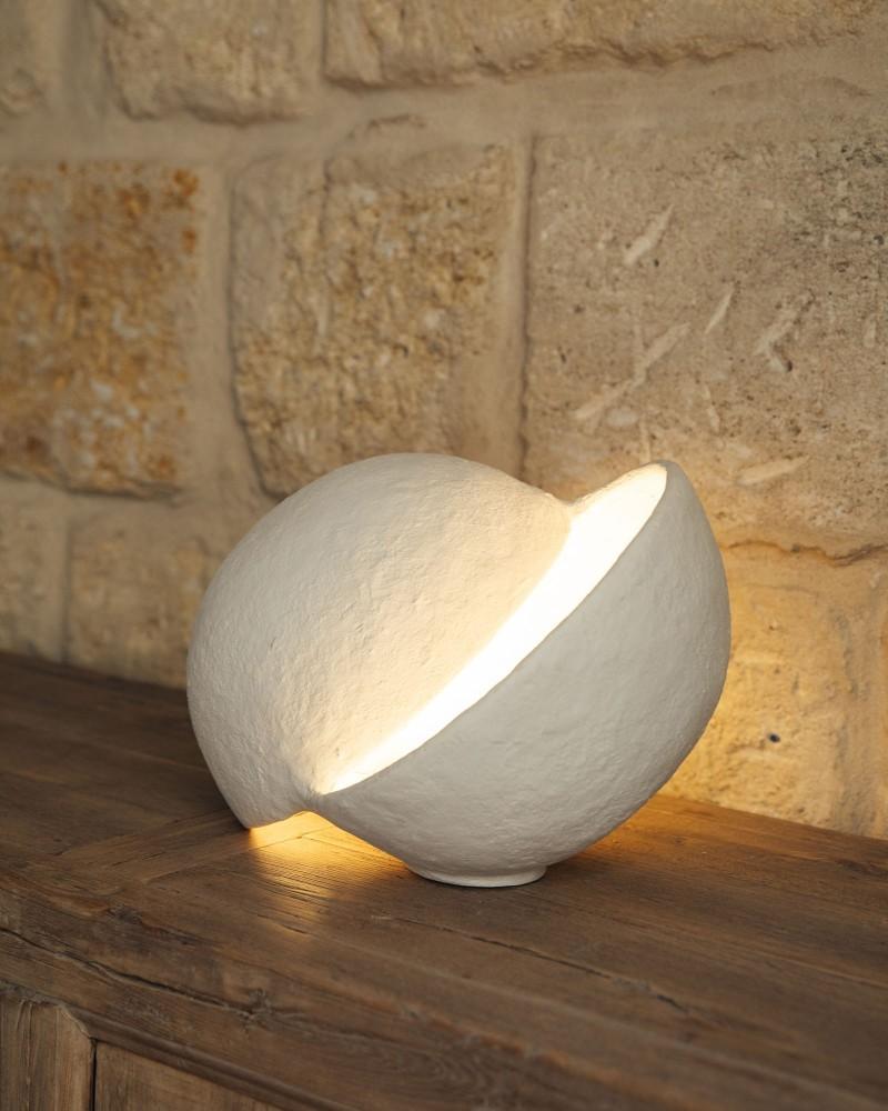 Lampe demi sphère - Earth