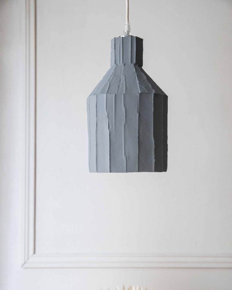 """Suspension """"Paper clay"""" - Gris - Medium"""