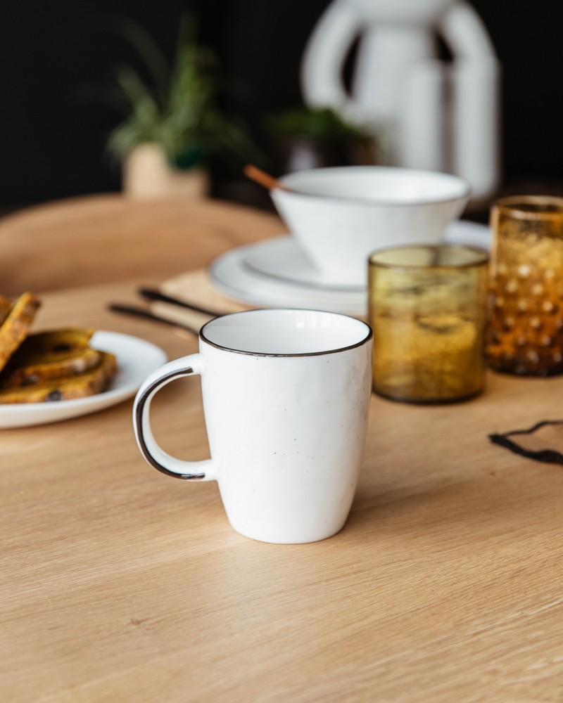 Mug porcelaine - Basil