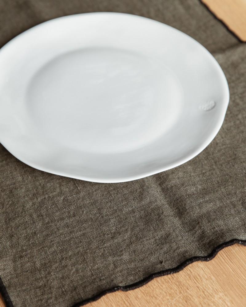 2 Sets de table lin - Kaki - Harmony