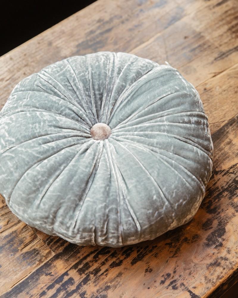Coussin soie Sweet -  Bleuet
