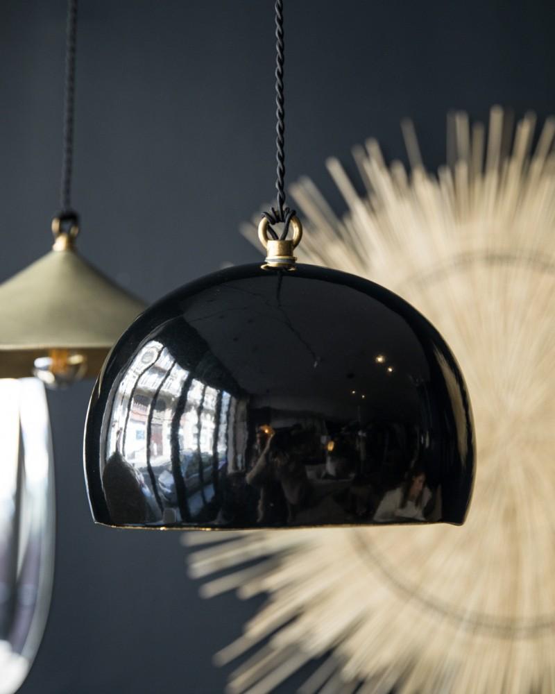 Suspension Boule - Noir